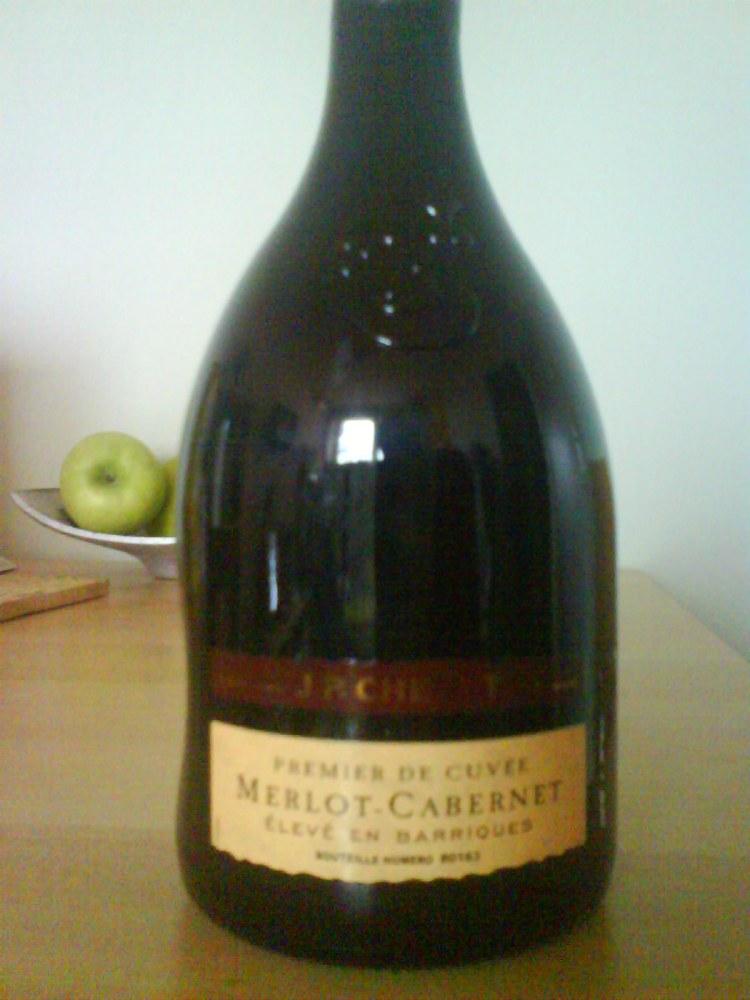 J.P. Chenet, Merlot-Cabernet barrique, 2008.