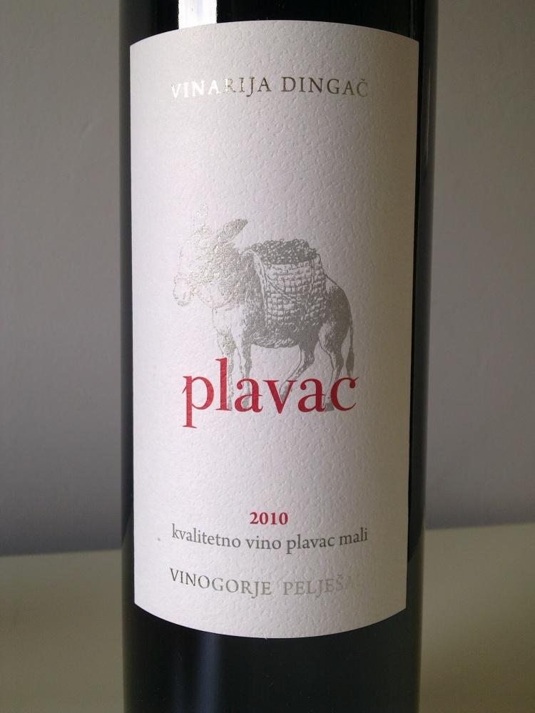 Vinarija Dingač, Plavac, 2010. vs Vinarija Dingač, Pelješac, 2010. (2/3)