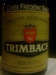 1996 Trimbach_Cuvee Frederic Emile_Riesling (Alsace)