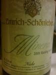 2009 Emrich Schonleber_Mineral_Riesling trocken (Nahe)