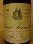 Albert Morot_Beaune 1er Cru Bressandes_1993