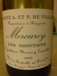 Domaine A. et P. de Villaine_Les Montots_Mercurey_2006