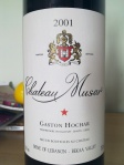 Chateau Musar_Red_2001