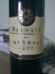 Belović_Muškat Žuti_2012