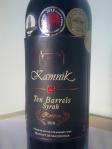 Kamnik_Ten Barrels Reserva_Syrah_2010
