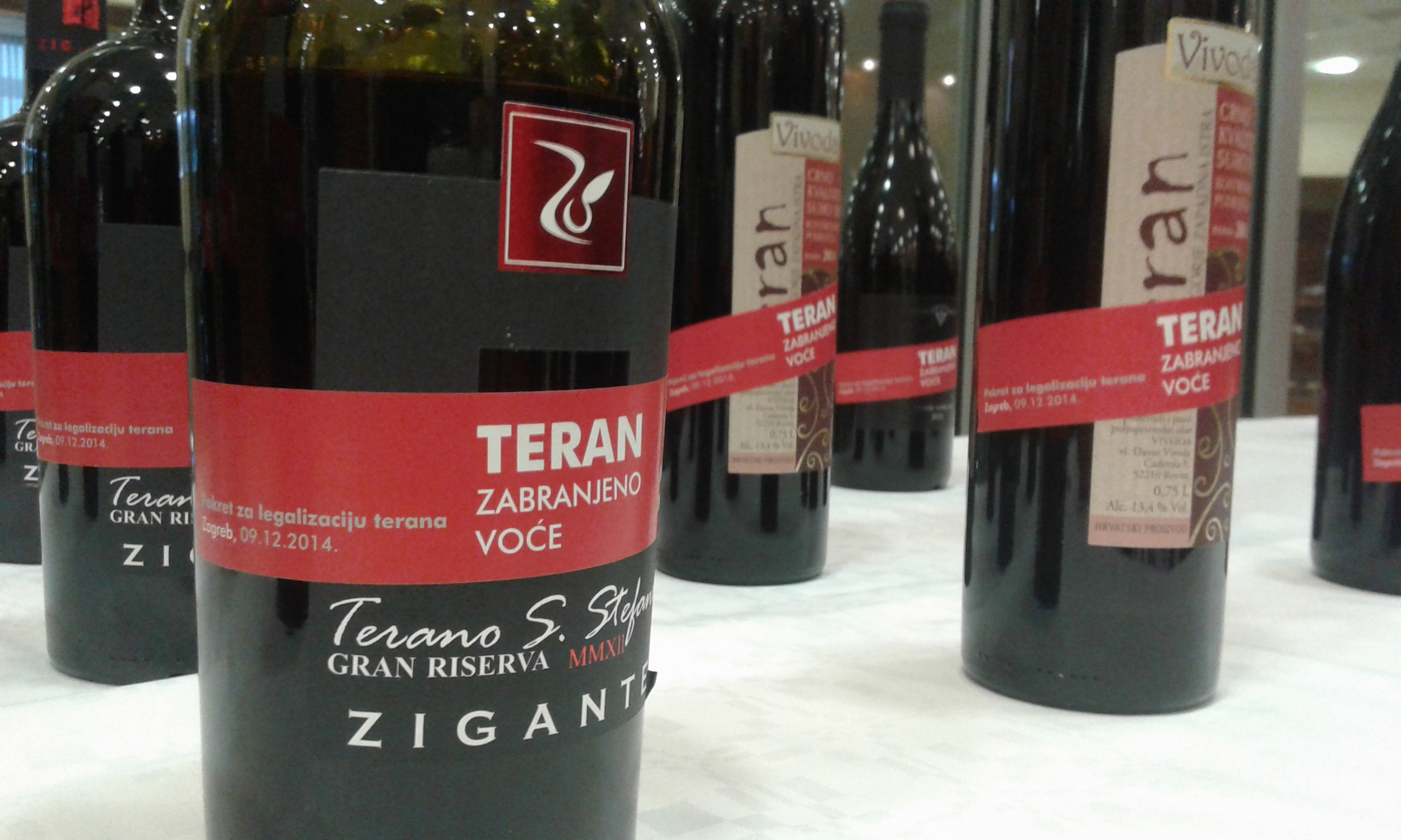 Croatian winemakers in Istria would be enabled to continue selling their wine made from the Teran grape variety under the name