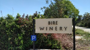 Bire vinarija natpis